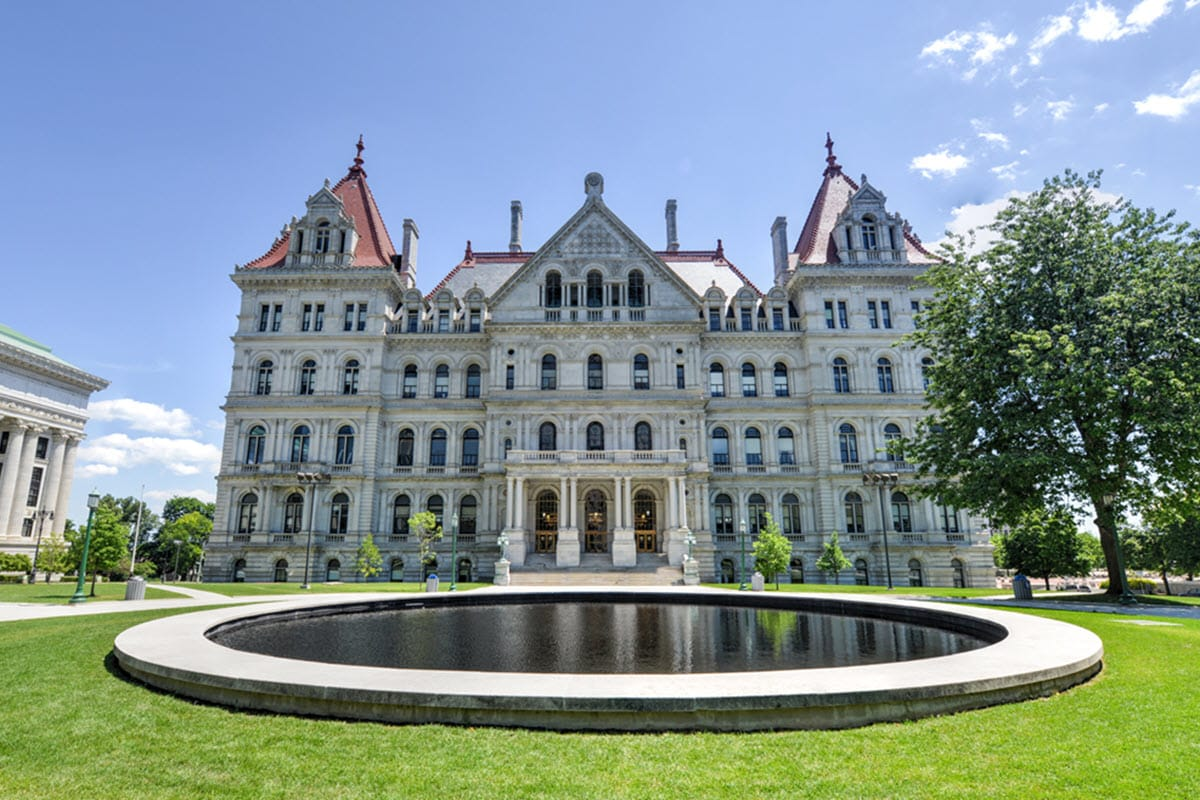 New York State Capitol - Albany